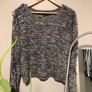 Guess Sweater with fringe detail